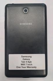 Like New Used Samsung Galaxy Tab 4 7 Inch 8gb Wifi Work With Wifi