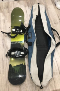 Burton Clash Snowboard - size 153 - comes with boots size 8