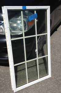 Exit or garage door window insert ( easy to install ) Retail $90