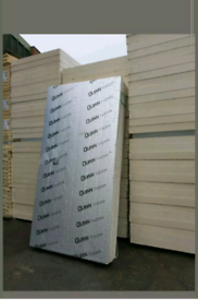 100mm 1200x2400 Celotex Insulation Sheets x5