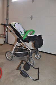 Mamas and Papas Sola stroller with car seat