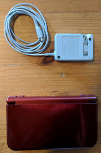 New Nintendo 3DS XL Red (With Charger)