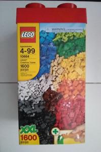 Extra-large boîte Lego! Large Lego Creative Tower Box! 1600pcs