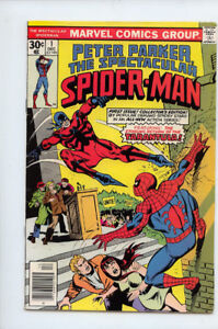 PETER PARKER THE SPECTACTULAR SPIDER-MAN #1 VF- 7.5 MARVEL COMIC