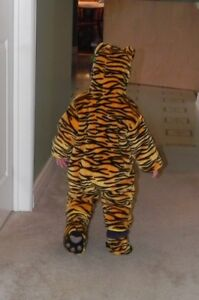 Tiger Halloween Costume - Size 18-24 months