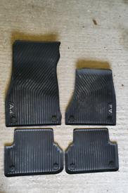 Audi A4 Rubber floor mats
