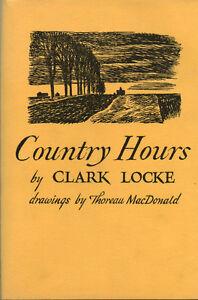 COUNTRY HOURS illustrated Thoreau Macdonald London Ontario image 1
