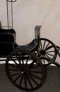 Antique Aimish Horse Surrey Carriage Buggy 100years old For Sale Prince George British Columbia image 3