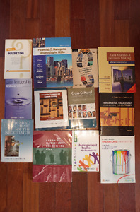 Used Textbooks for MBA courses