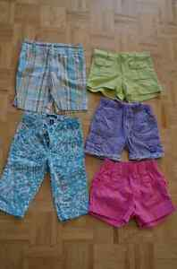 Shorts fille 4 ans