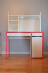 Desk and matching chair- Ikea