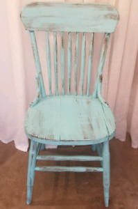Chaise rustique, revalorisée / Rustic chair, upgraded