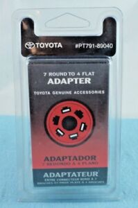 Toyota OEM 7Pin To 4Pin Adapter PT791-89040