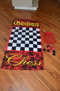 Games ( XL snakes & ladders, XL checkers)