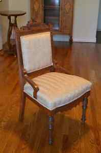 Beautiful Antique Eastlake Chair