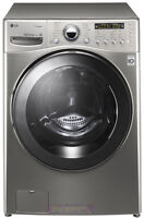 Broken / Non-Working Front Load Washer with Stainless Steel Drum