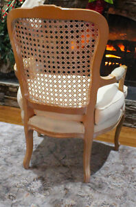 Beautiful Queen Anne Cane Back Chair Windsor Region Ontario image 7
