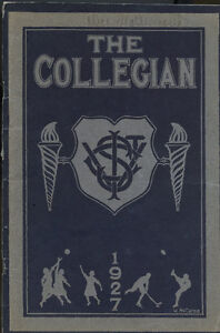 COLLEGIAN- YEARBOOK (ST THOMAS COLLEGIATE INSTITUTE) STCI 1927