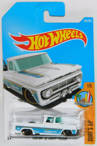 Hot Wheels 1/64 Custom '62 Chevy Pickup Diecast Car