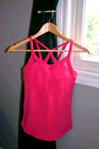 Never Worn Hot Pink Size 4 Lululemon Top