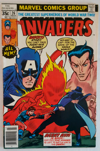MARVEL Invaders (1977-78) 10 comic book lot BRONZE AGE