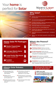 Home Solar PV Power - complete design and installation