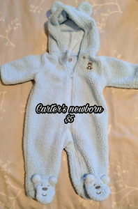 Baby snowsuits / bunting suits