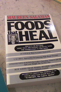 Maureen Salaman, 3 Books, Foods That Heal, Etc., Kitchener / Waterloo Kitchener Area image 3