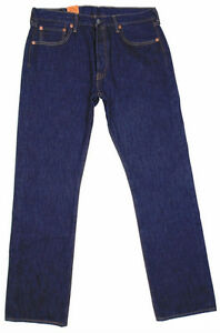 Mens Authentic Levis Strauss 501 Button Fly Jeans[new]
