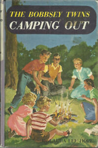 1955 Illustrated - HC - The Bobbsey Twins Camping Out by Laura L