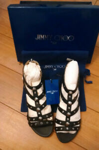 Jimmy Choo for HM Roman Sandals Size 8 Women