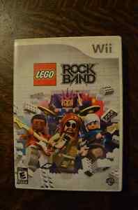 Wii  LEGO ROCK BAND -Complete