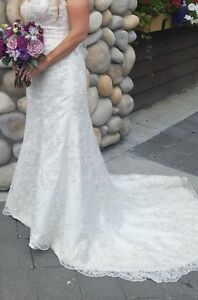 Romantic Vintage Designer Wedding Dress for Sale