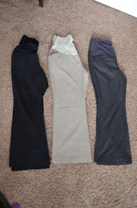 Maternity pants medium and large