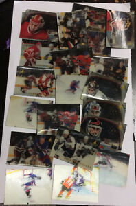 Hockey 3D cards