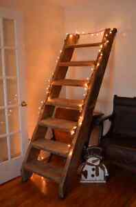 Solid Wood Barn Stairs-Gorgeous Design Ideas Here!!