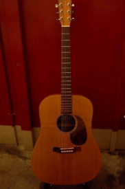 Martin Dreadnought guitar - solid spruce top