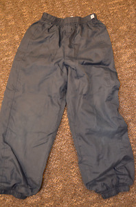 Spring splash pants, size 5