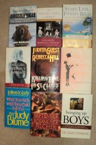 Assorted Hardcover Books   $ 3 each