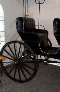 Antique Aimish Horse Surrey Carriage Buggy 100years old For Sale Prince George British Columbia image 6