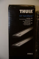 Barres THULE AeroBlade / 480R Load Bars VW Golf GTI Rabbit