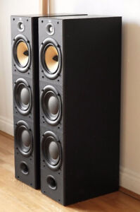*REDUCED* B&W DM 604 S2 standing speakers