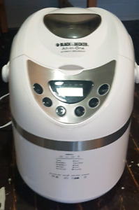 Bread machine only used once works great