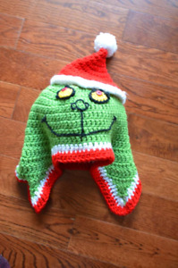 Crocheted hat Christmas