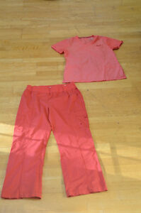 Scrub outfit from Mark Work Warehouse ($7.00 for top and bottom)