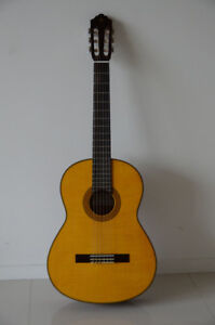 Yamaha Classical Guitar with Hard Shell Case