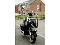 AJS Modena Scooter - Black