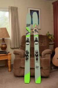 Line Sic Day 102 Skis with Bindings. NEW