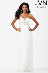 JVN by Jovani Strapless Prom/Bridal Dress