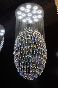LUSTRES CRISTAL NEW - CRYSTAL CHANDELIERS K9 REAL CRYSTAL NEW